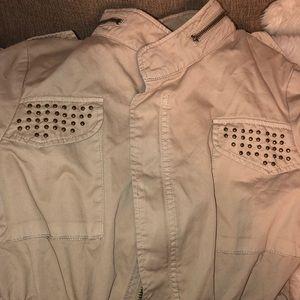 Zara jacket khaki 🧥